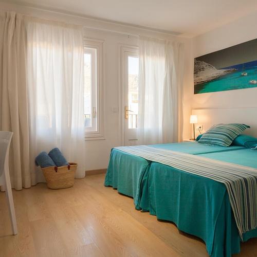 HABITACIÓN DOBLE ECONÓMICA Hotel Capri