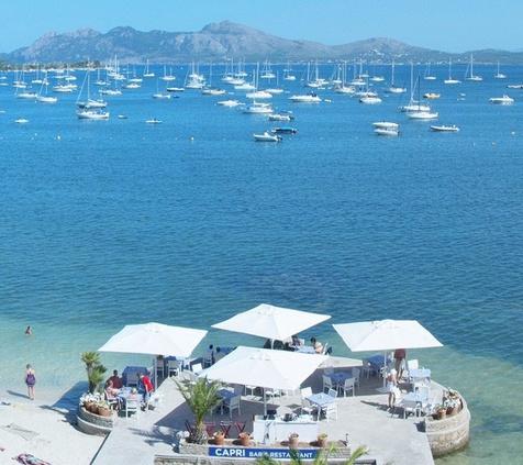 CENAS SOBRE EL MAR Hotel Capri 3